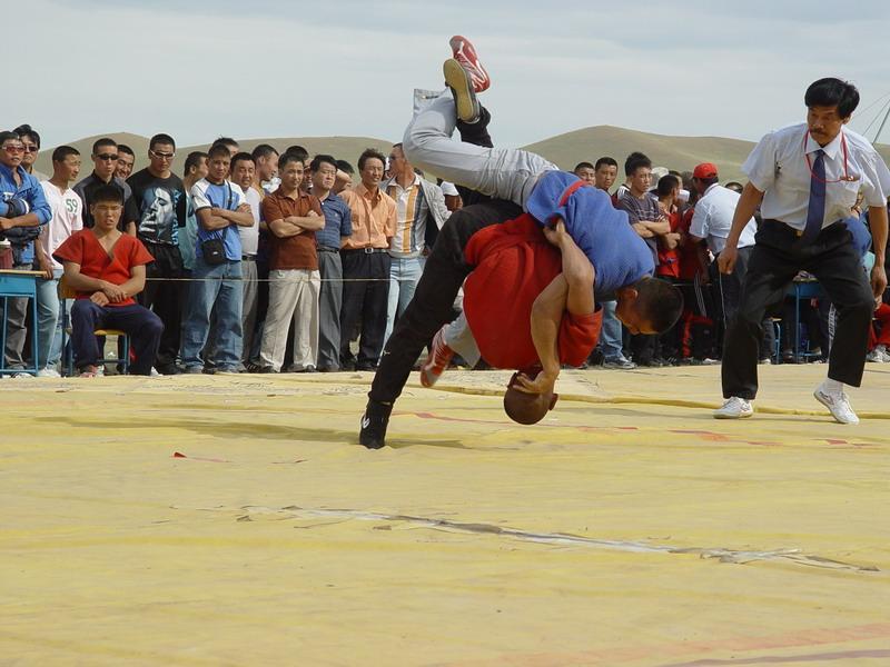 Shuai Jiao 摔角