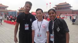 Com o Sifu Benny Wong.