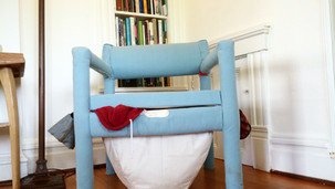 laundry chair.