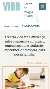 Comunidade website templates – Centro de Terapia