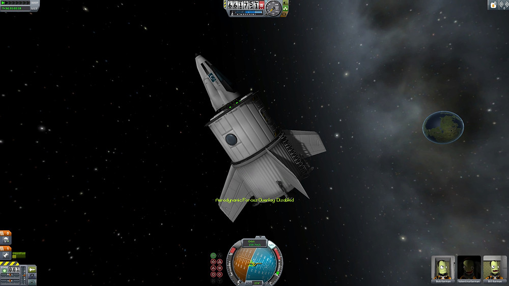 This may look cool, but several Kerbals died while trying to claw their way out of it.