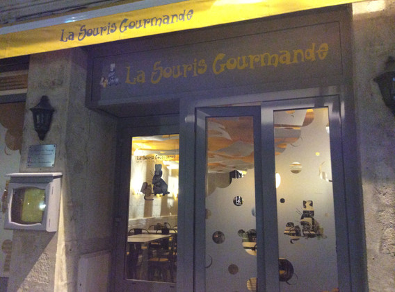 LA SOURIS GOURMANDE - FAÇADE