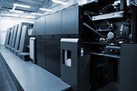 Tryckpressen är hjärtat i vår verksamhet, state of the art, teknologi som får dig att häpna!