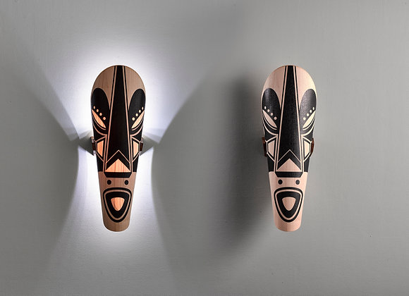 Wall lighting fixtures   Kongo Series   Light on and Light off