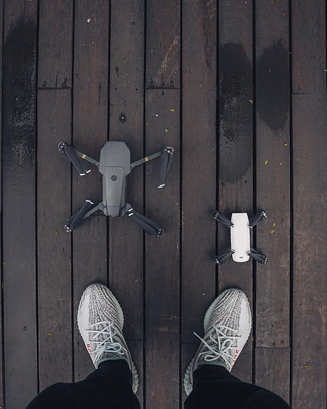 Clinton Jeff DJI Mavic Pro Product Photo