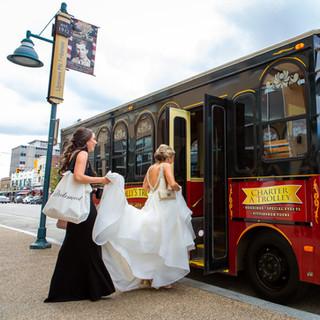 bride-boarding-trolley.jpg