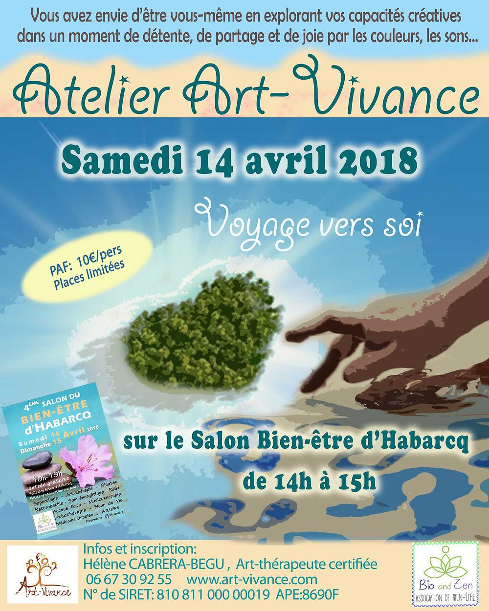Atelier Art-Vivance Habarcq Hauts-de-France 14 avril 2018