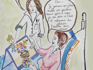 Complémentarité de l'art-thérapie dans les soins