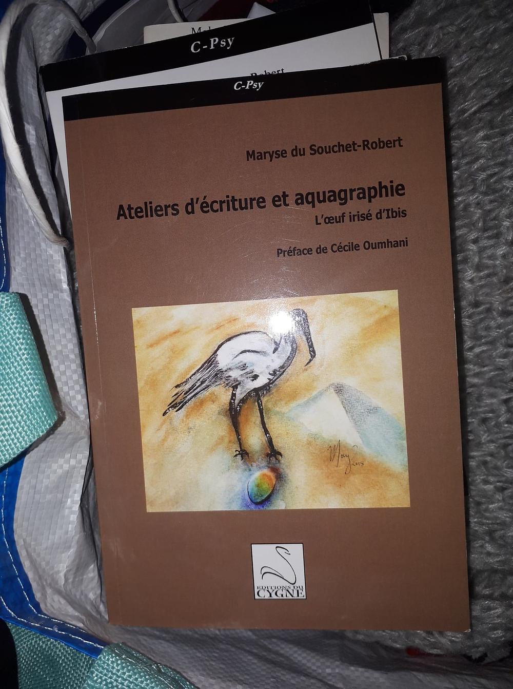 Ateliers d'écriture et aquagraphie Maryse du Souchet-Robert