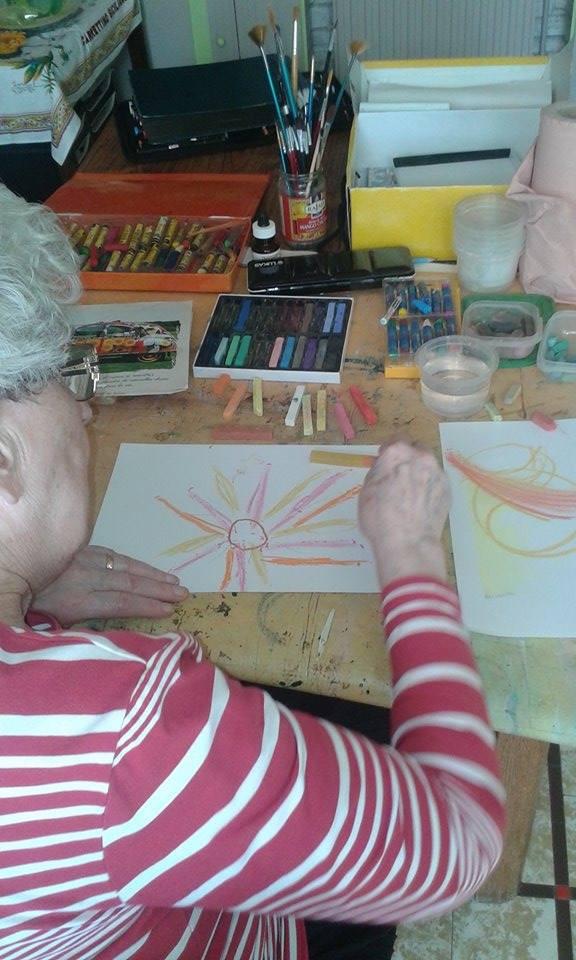 L'art-thérapie chez la personne âgée