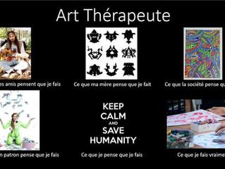 L'art-thérapie: votre futur métier? Itinéraire et témoignage d'une jeune art-thérapeute...