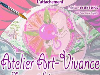 """Atelier Art-Vivance """"L'attachement"""""""