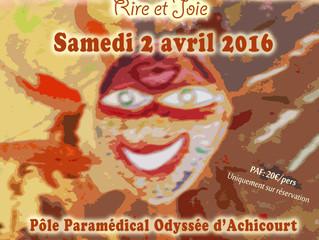 """""""Rire et joie"""" au Pôle paramédical Odyssée d'Achicourt"""