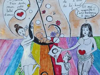 """Originalité de l'art-thérapie pour soutenir la relation """"Parent-Enfant"""""""
