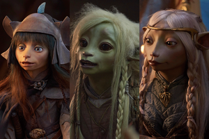 Rian, Deet and Brea of Netflix's The Dark Crystal: Age of Resistance 2019