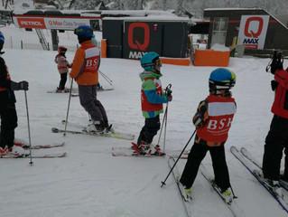 Škola skijanja - Početni stav
