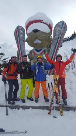 Ski klub BSK_Meribel - januar 2018.god.