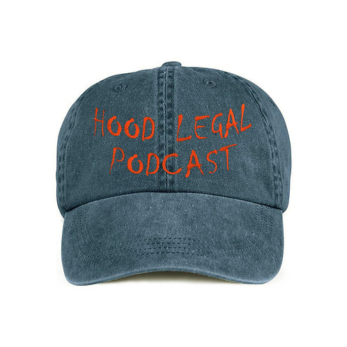 Hood Legal Podcast Dad Denim Cap