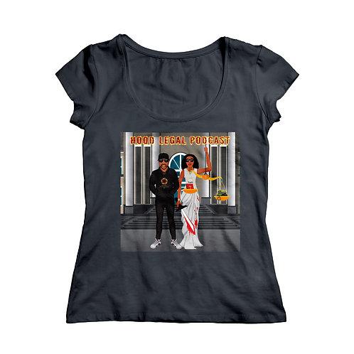 Hood Legal Logo Lady Tshirts