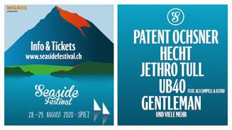 Screen-Werbung Seaside Festival (2020)