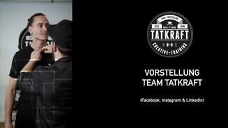 Vorstellung TATKRAFT Team (2020)