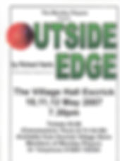 Monday Players Outside Edge poster 0507.