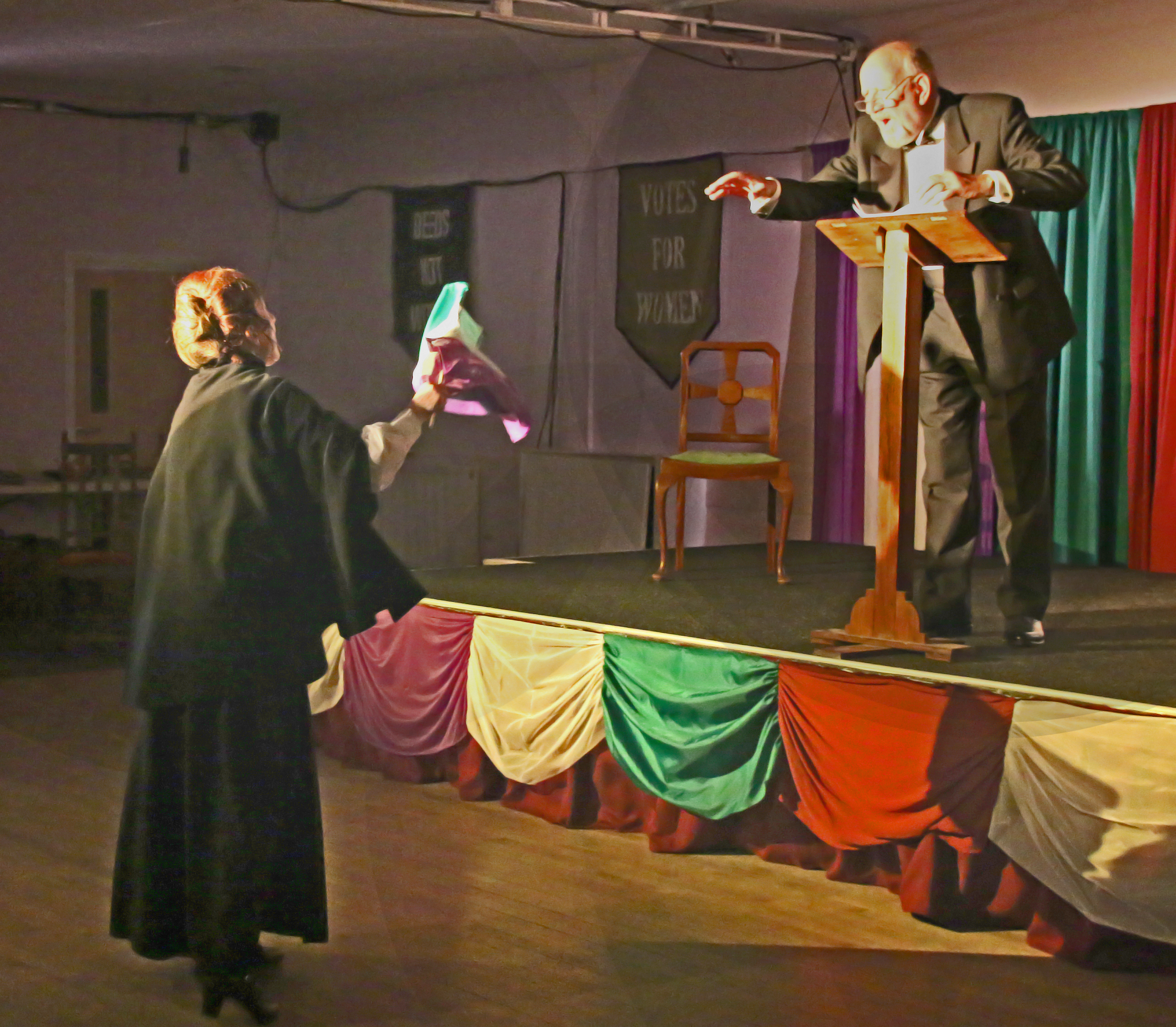 The Politician and the Suffragette
