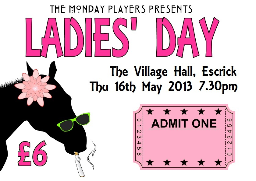 ladies day ticket graphic