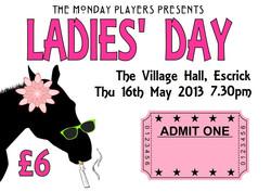 ladies day ticket graphic