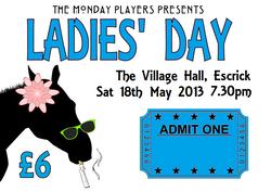 ladies day ticket graphic sat