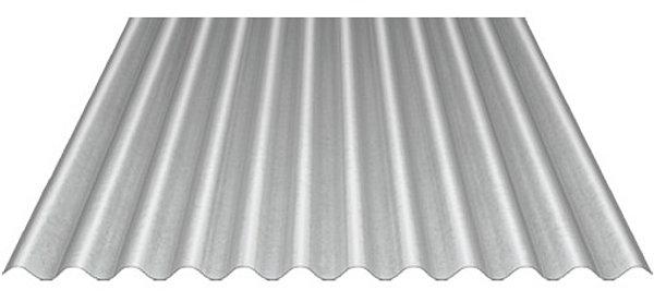 Paneles sandwich y policarbonato materialesparatejados for Chapa ondulada galvanizada