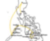 Best route to travel the philippines plus map