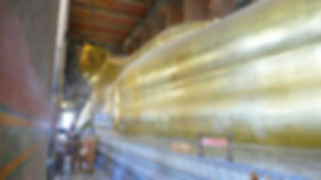 The Giant reclining Budda in Bangkok city