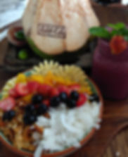 The tastiest food ever at the Buki cafe bali