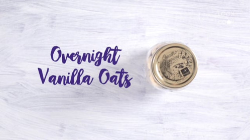 Overnight Vanilla Oats