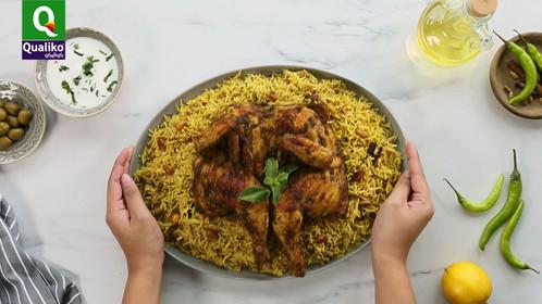 Chicken Mandi Recipe - Branded video content