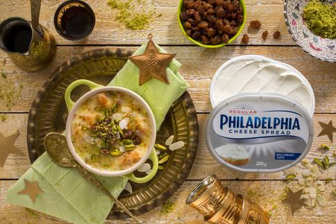 Food Photography - Philladephia Cheese Recipe