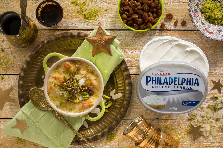 Food Photography - Philladephia Cheese Recipe