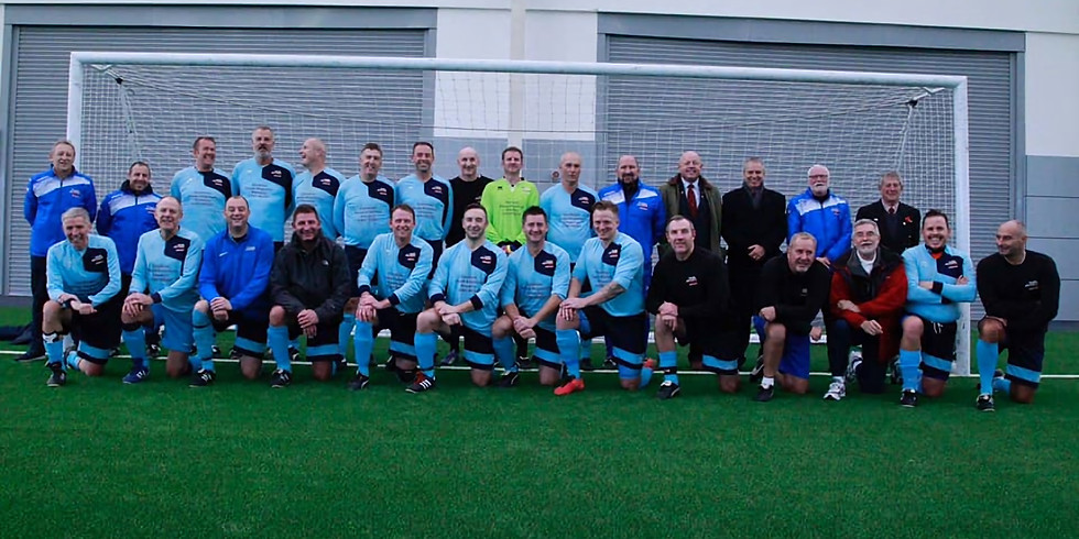 27th Oct 19 RAFFA Vets v Man City FC Vets