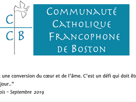 Newsletter | Octobre 2019