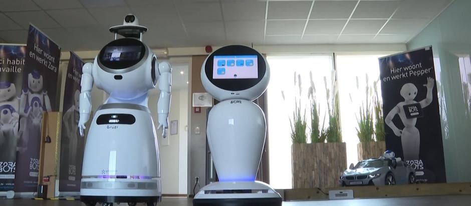 Les robots belges aident l'Europe à lutter contre la pandémie de COVID-19