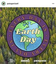 Patagonia ATL x New Georgia Project Earth Day Social Media Post
