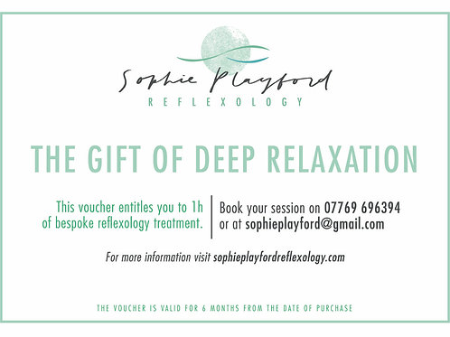 The gift of deep relaxation
