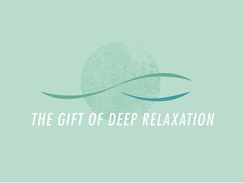 The Gift of Deep Relaxation - Reflexology voucher