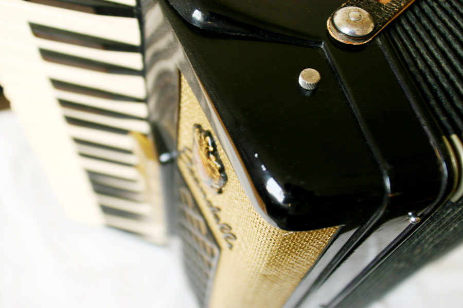Accordion Close-up