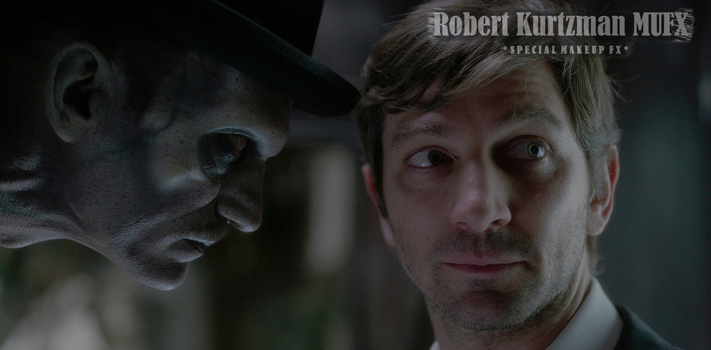 Bowler Hat Man/Tall Man stare down