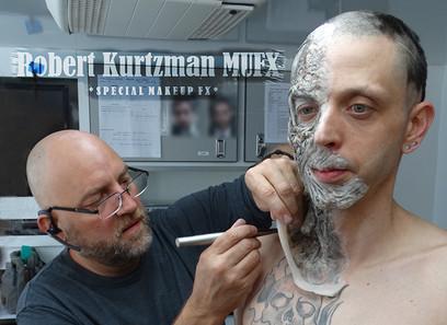 Robert Kurtzman applies