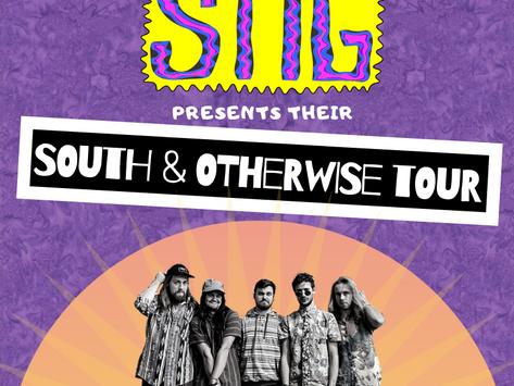 """STIG Announces Their """"South & Otherwise"""" Spring Tour"""