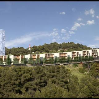 30 logements et commerces, La Savine