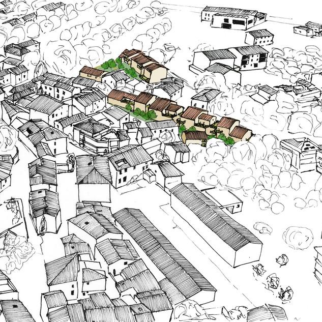 Opération de 46 logements en centre-ville